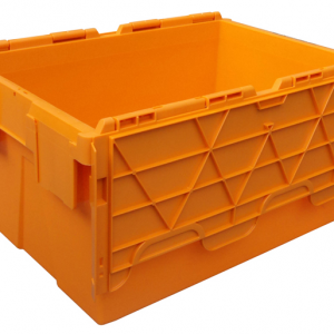 extra large plastic storage bins with lids  sc 1 st  Plastic Euro Stacking ContainersEuro Crates For Sale & Wholesale Attached Lid Containersplastic moving crates for sale